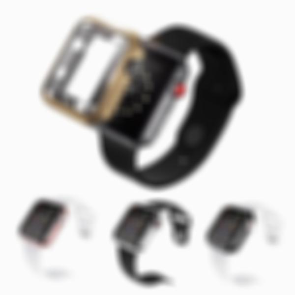 Arosetop Watches Cover TPU Protective Case for Apple Watch