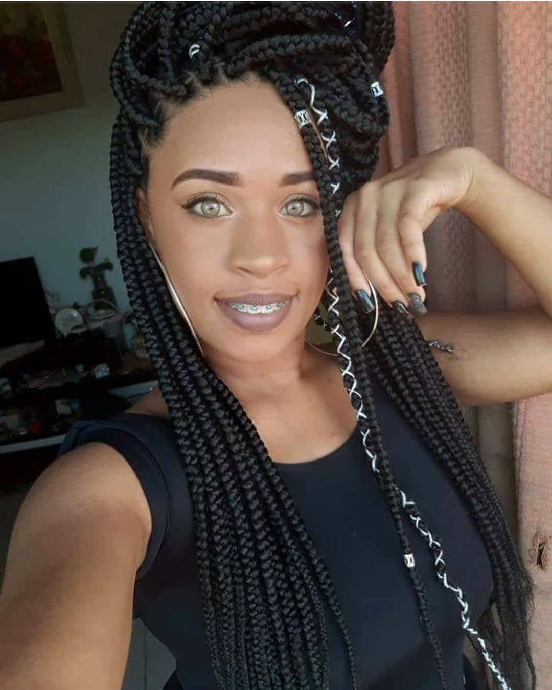 Best Braiding Hairstyles African American Hair 715 Store Deep Wave Weave With Closure John Lennon Wig Hair Bundles With Frontal