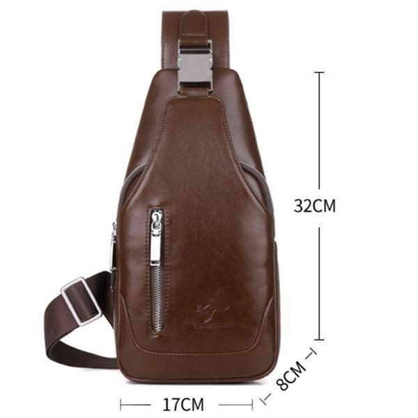 Men's Anti-theft Vintage Sling Bag