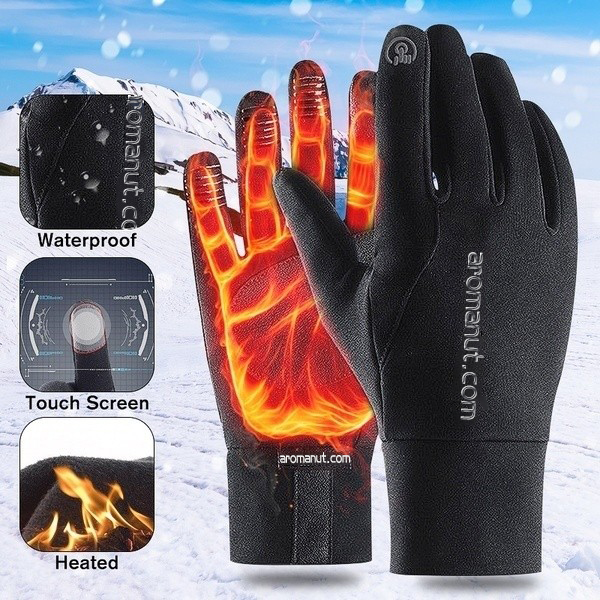 【🔥ON SALE AT 50%OFF】Unisex Winter Warm Waterproof Touch Screen Gloves