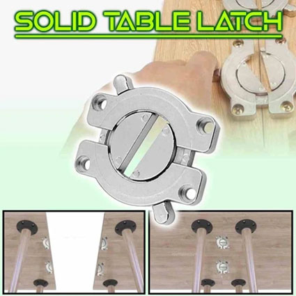 Solid Table Connector Latch
