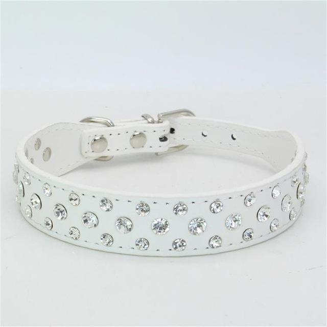 Small Cats Dogs Collars Rhinestone Personalized Accessories For Pet.