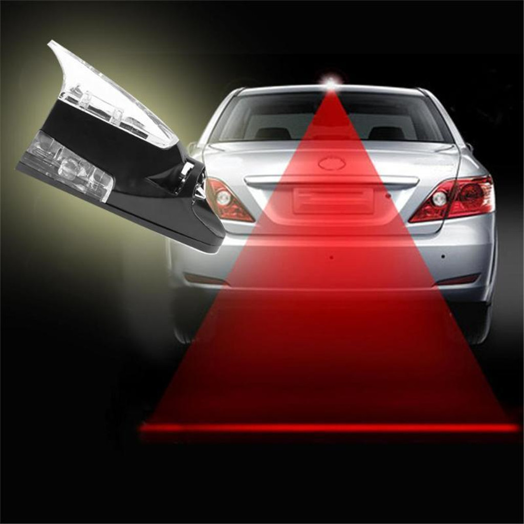 [50% OFF TODAY] - Car Shark Fin Shape Roof Antenna LED Car Styling Warning Flash Tail Light For All Car