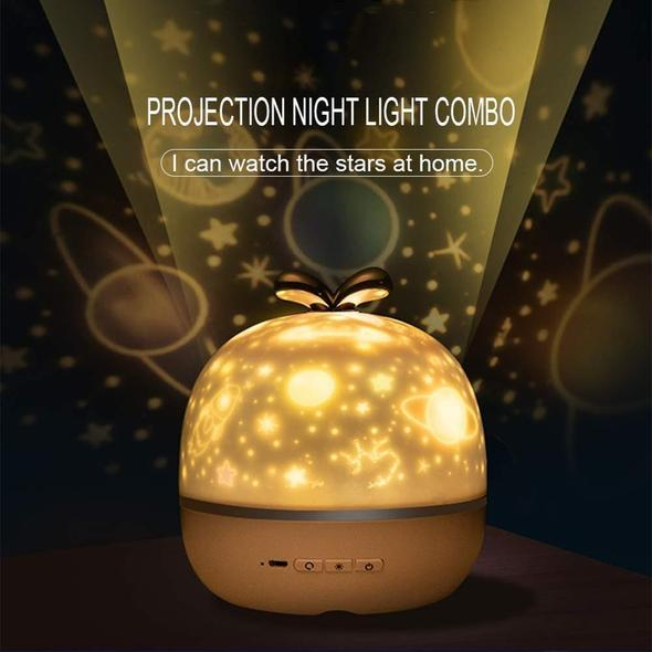 (🎄New Year Sale🎄-50% OFF) 360 Rotation Starry Sky Projector- Buy 2 Free Shipping