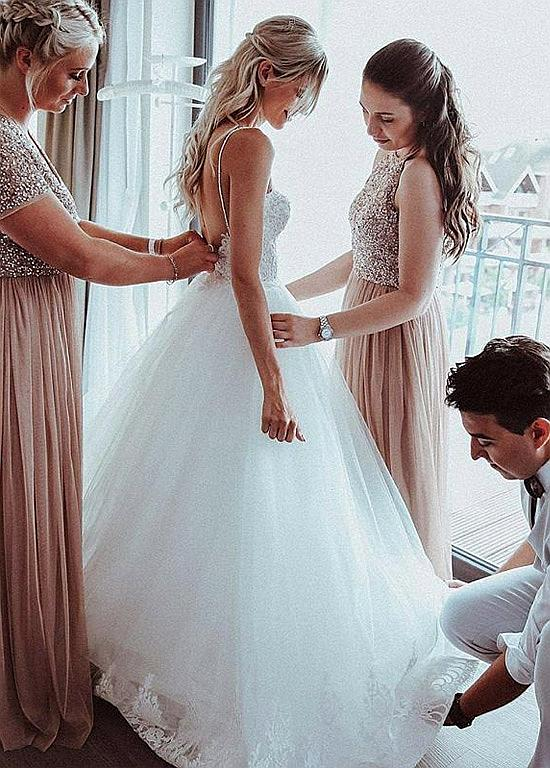New Wedding Dresses Best Wedding Guest Dresses Bespoke Wedding Dresses Cream Bridesmaid Dresses Semi Formal Dresses For Wedding Mermaid Wedding Gown Free Shipping