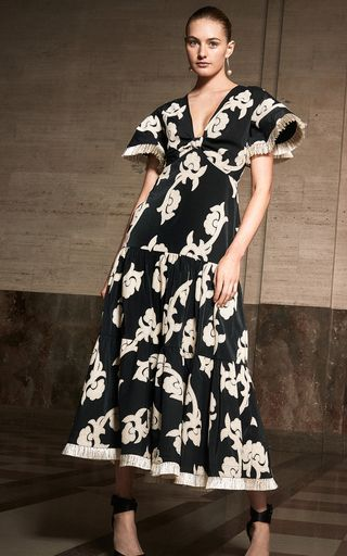 Casual Dress Woman'S Gown Country Chic Clothing Ladies Full Dress Women Wear Gown