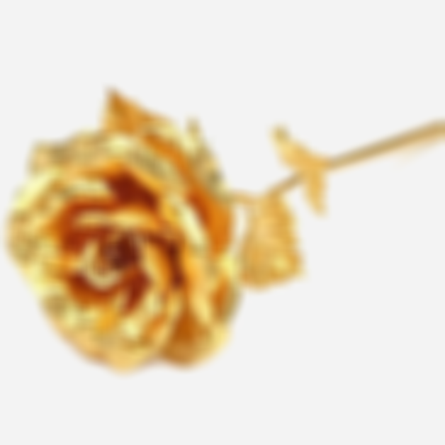 Arosetop 24K Gold Foil Roses with Gift Box Red Rose Flowers for Valentine,  Birthday