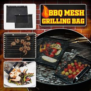 Non-Stick BBQ Mesh Grilling Bag😍【Limited Quantity 50% OFF Now】