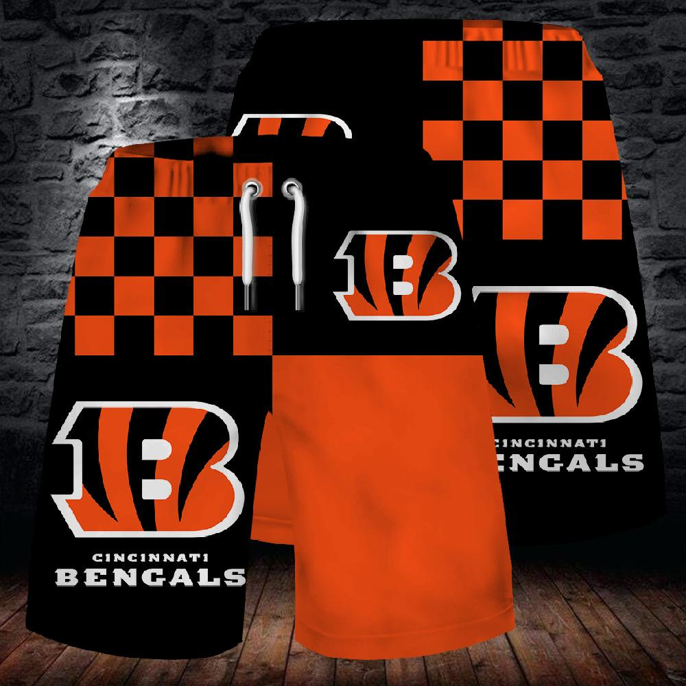 Cincinnati Bengals Summer Beach Shorts