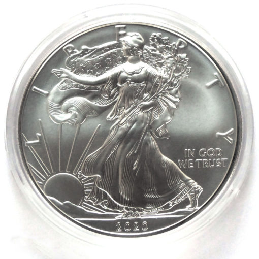 2020 American 1-Ounce Silver Eagle Brilliant Uncirculated (Purchase Limited To 20)