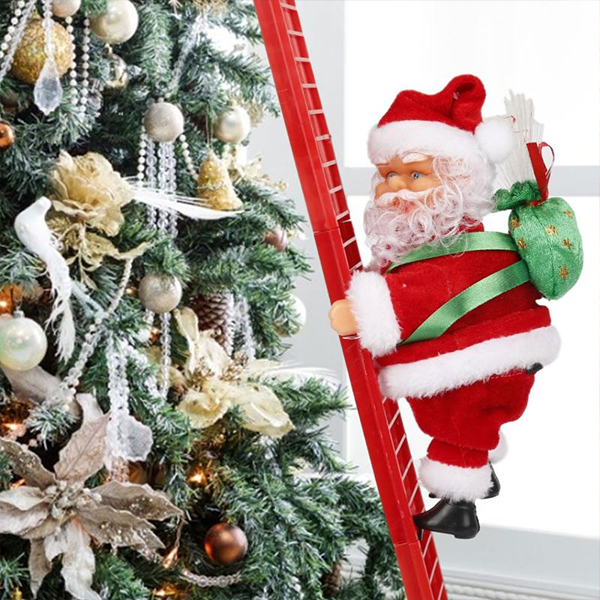 🔥50% OFF🔥-Electric Climbing Santa- Limited Edition