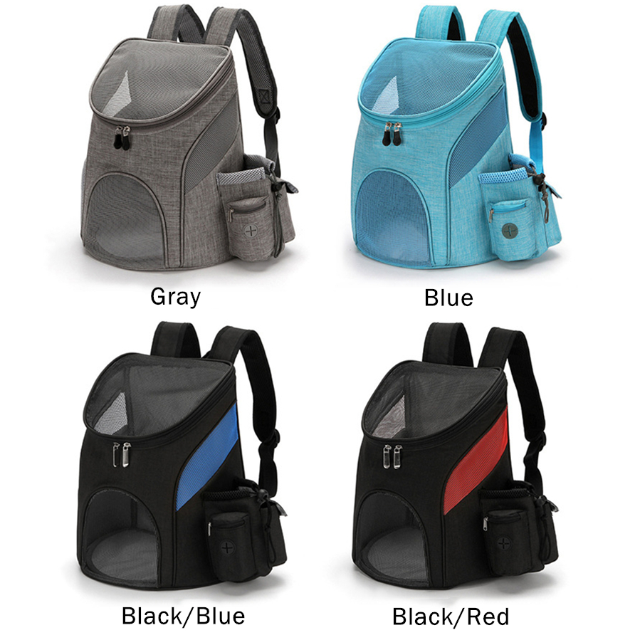 Pet Carrier Backpack for Small Cats and Dogs, Ventilated Design, Safety Strap