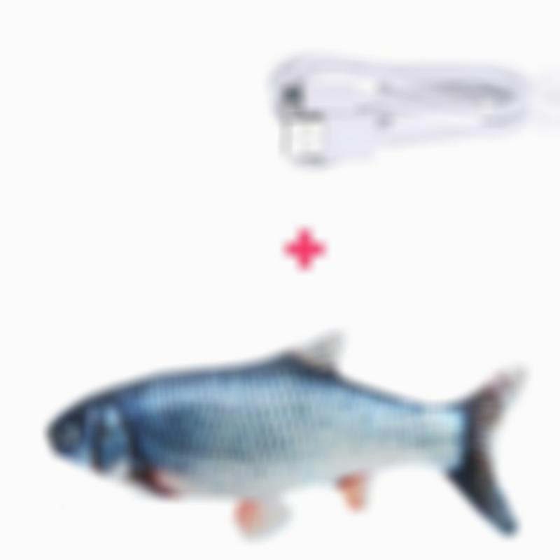 Interactive Dancing Fish Cat Toy