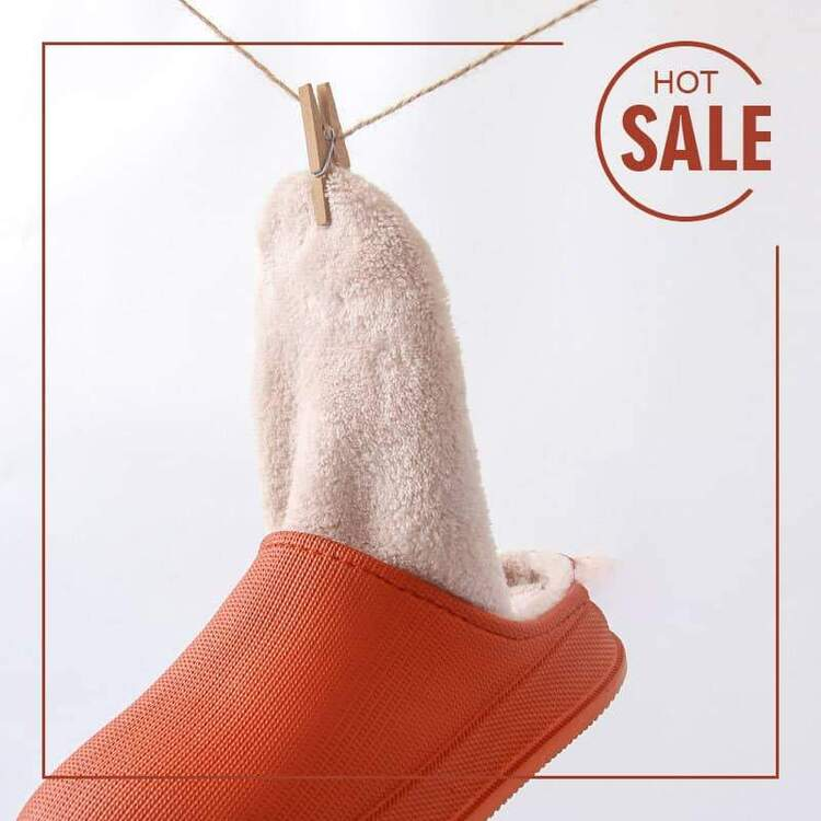(🎅EARLY XMAS SALE - 50% OFF)Waterproof Non-Slip Home Slippers, Buy 2 Free Shipping