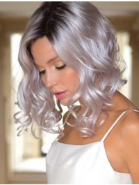 2020 Best Lace Front Wigs Meghan Markle White Hair Miranda Grey Hair Color Blue Ombre Lace Front Wigs Auburn Ombre Wig