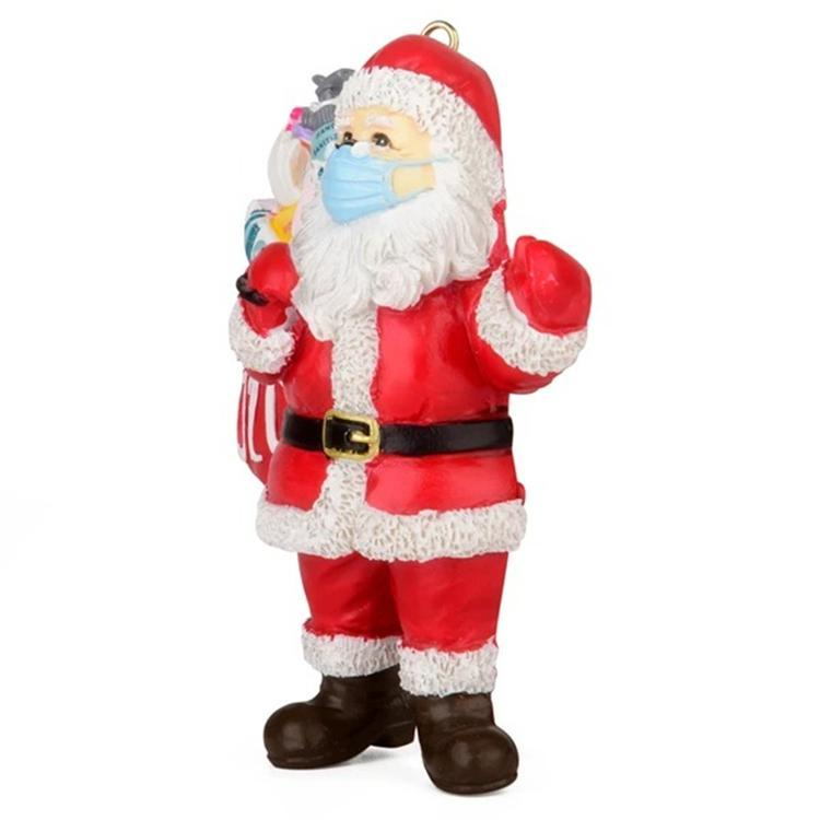 2020 Santa Claus Keepsake Ornament Christmas tree pendant