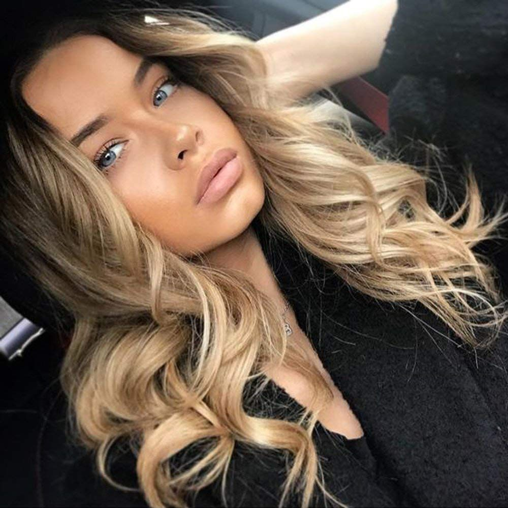 Lace Front Wigs Blonde Hair With Lowlights 613 Straight Wig Blake Lively Blonde