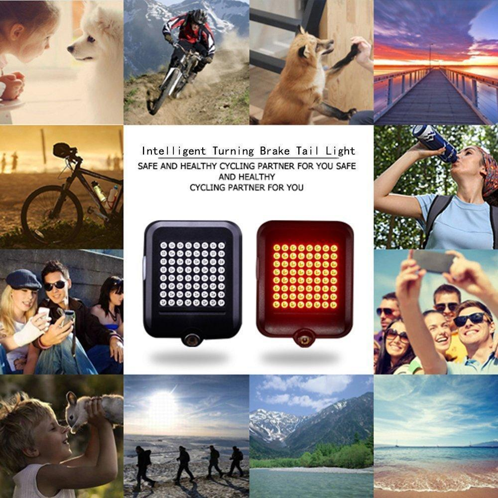 Intelligent LED Bicycle Turn Signal Lights(Last Day Promotion 50% Off)