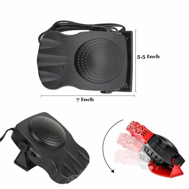 Portable 12V/24V Car Heater