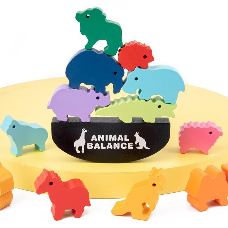 Animal Equilibrium & Color Learning Toy