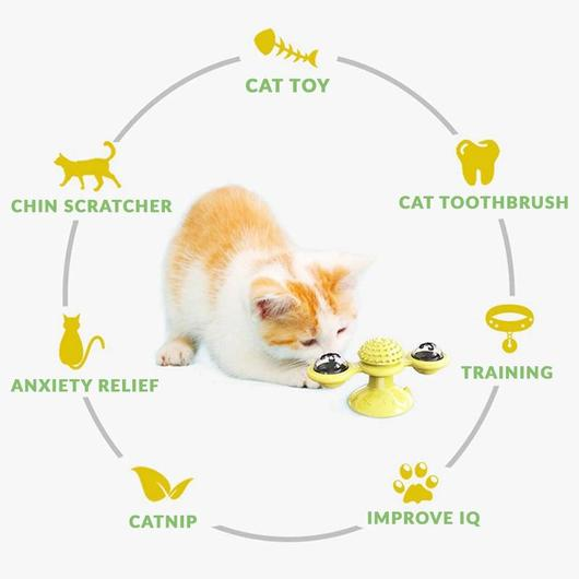 BUY 2 FREE SHIPPING-Windmill Cat Toy