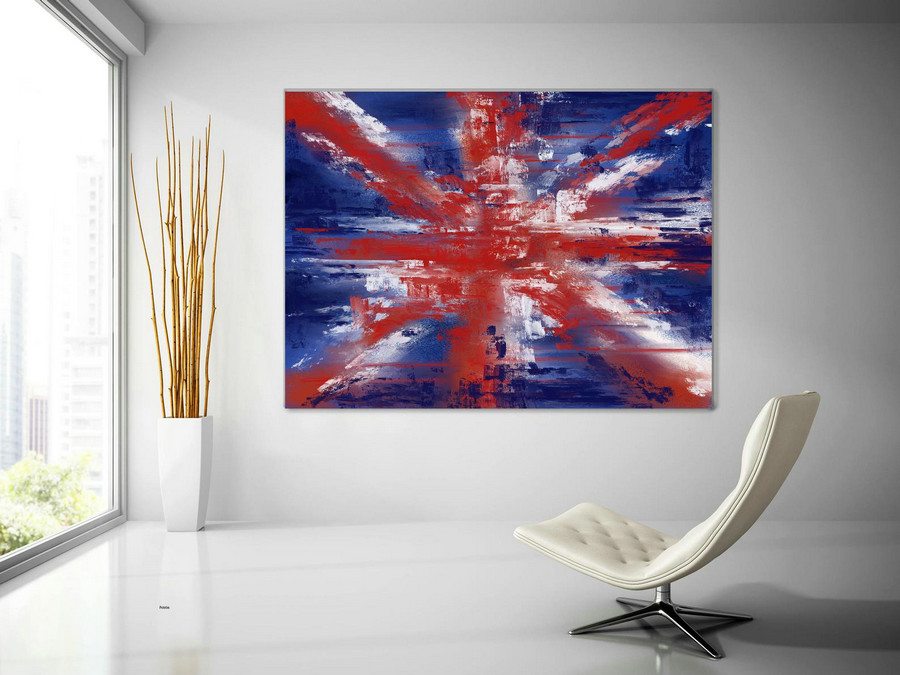 Extra Large Wall Art Palette Knife Artwork Original Painting,Painting on Canvas Modern Wall Decor Contemporary Art, Abstract Painting Pic006