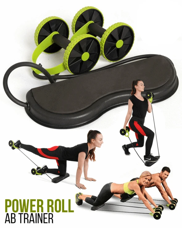 60%OFF Power Roll Ab Trainer