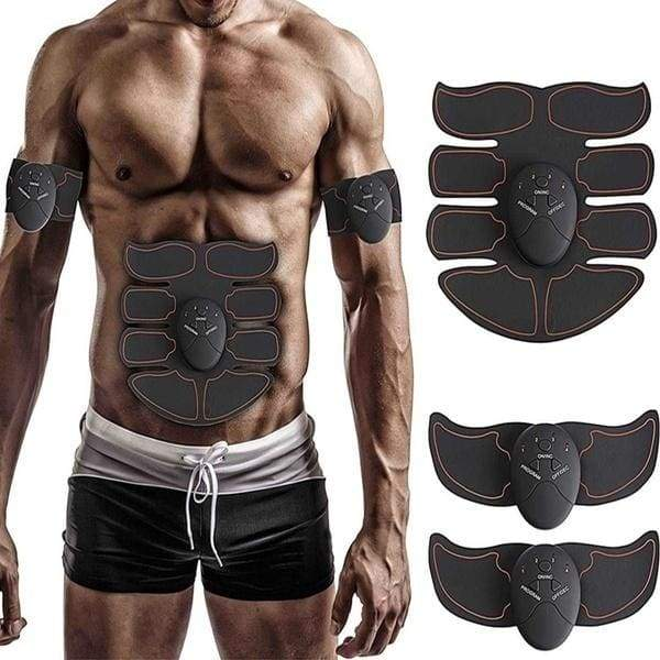 HOT Professional EMS Muscle Training ABS Fitness Muscle Fat Burning Smart Abdominal Trainer Device