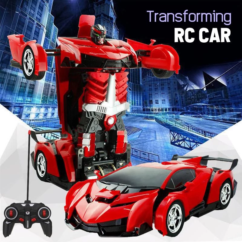 (60% OFF Holiday Promotion+BUY 2 Free Shipping&SAVE$5)-Transformer RC Toy Car