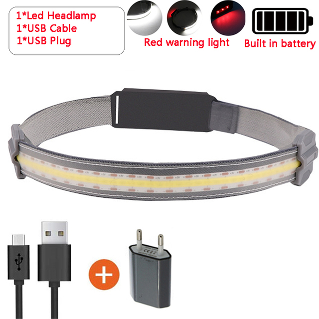 (Early Father's Day Promotions-50% OFF) Strip COB headlamp & Buy 2 Get Extra 10% OFF
