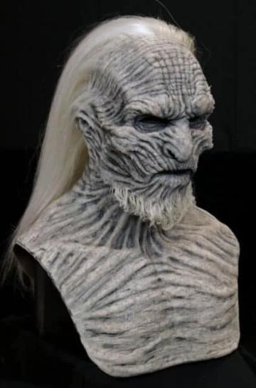 WHITE WALKER SILICONE MASK