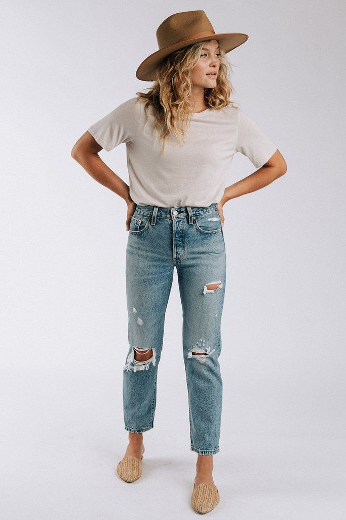 Best Jeans For Women Paper Bag Mom Jeans