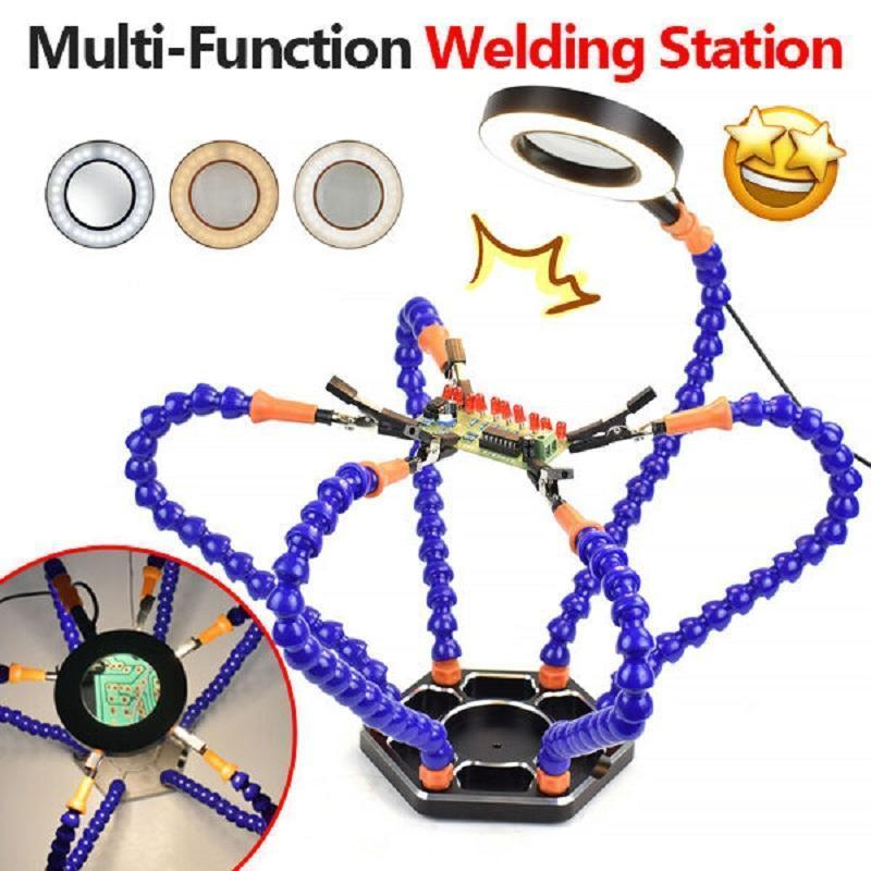 Multi-Function Welding Station With Universal Arm