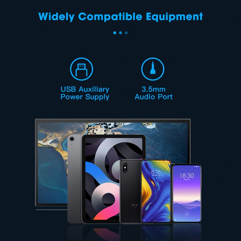 Subwoofer Multimedia Loudspeakers Computer Speakers Stereo  for PC Laptop Music Player
