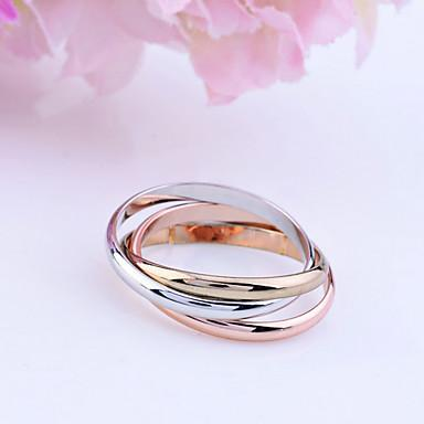 Women's Band Ring Go Rings Gold Plated Alloy Unusual Unique Design Fashion Wedding Daily Jewelry Russian Wedding Ring