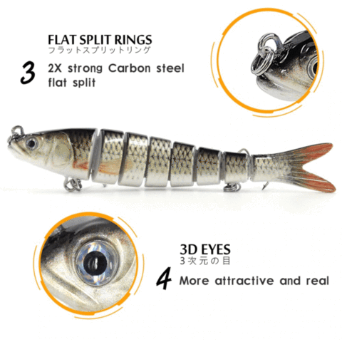 2019 NEWS DANCING MINNOW FISHING LURE【50% OFF+BUY 4 FREE SHIPPING】