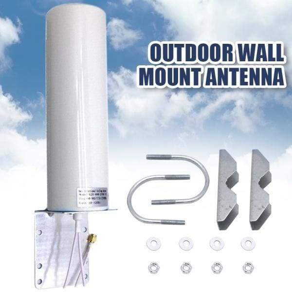 1*Dual Wire SMA Male 2G 3G 4G LTE Outdoor Wall Mount Signal Booster Antenna