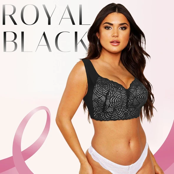 Year-End Hot Sale🔥Aire Ultimate Lift Stretch Full-Figure Seamless Lace Cut-Out Bra