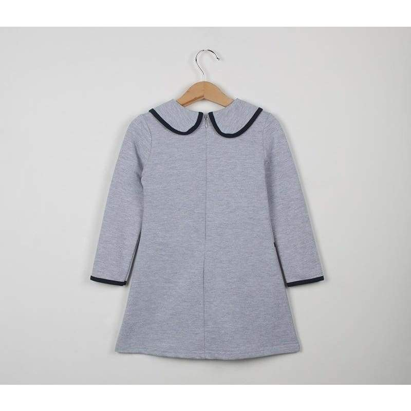 Fashion Baby Girls Kids Spring and Autumn Long Sleeve Dress Long Sweater Hoodies Children Clothing