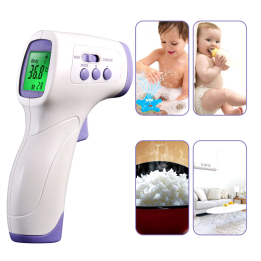 Muti-fuction Infrared Forehead Body LCD Thermometer