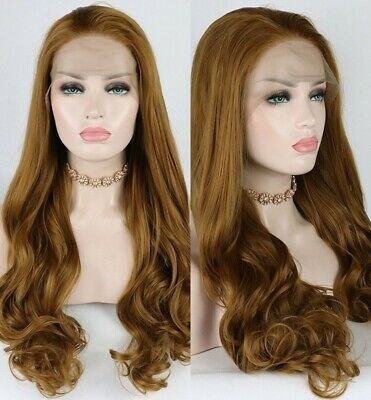 Lace Front Wigs Brown Wigs Blonde Wigs 70S Flick Wig Honey Blonde Natural Hair Wigs For Black Women
