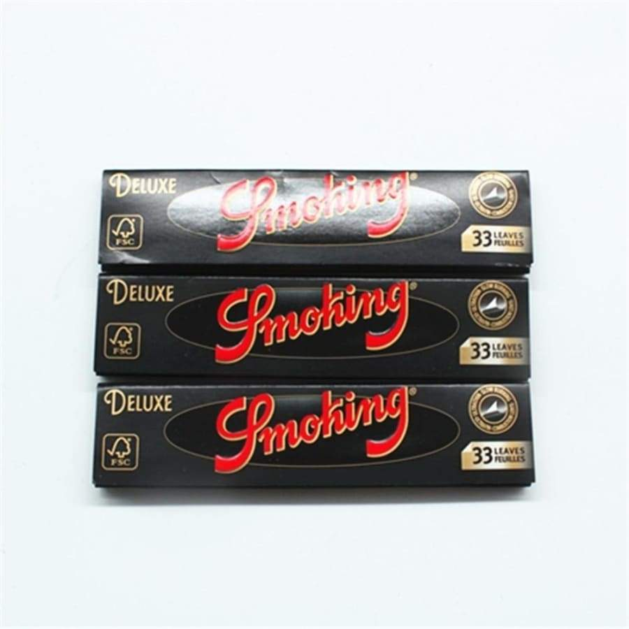 HOT High Quality SMOKING DELUXE Rolling Tray 110mm Roller Classic King Size Native Rolling Papers