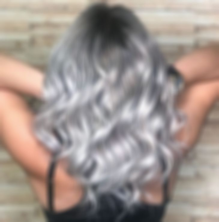 2020 Best Lace Front Wigs Grey Hair Styles For Women White Hair Stress Good Quality Short Wigs Lace Front Wig Rainbow