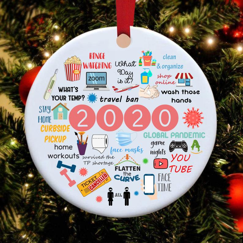 2020 Annual Events Christmas Ornament🎄