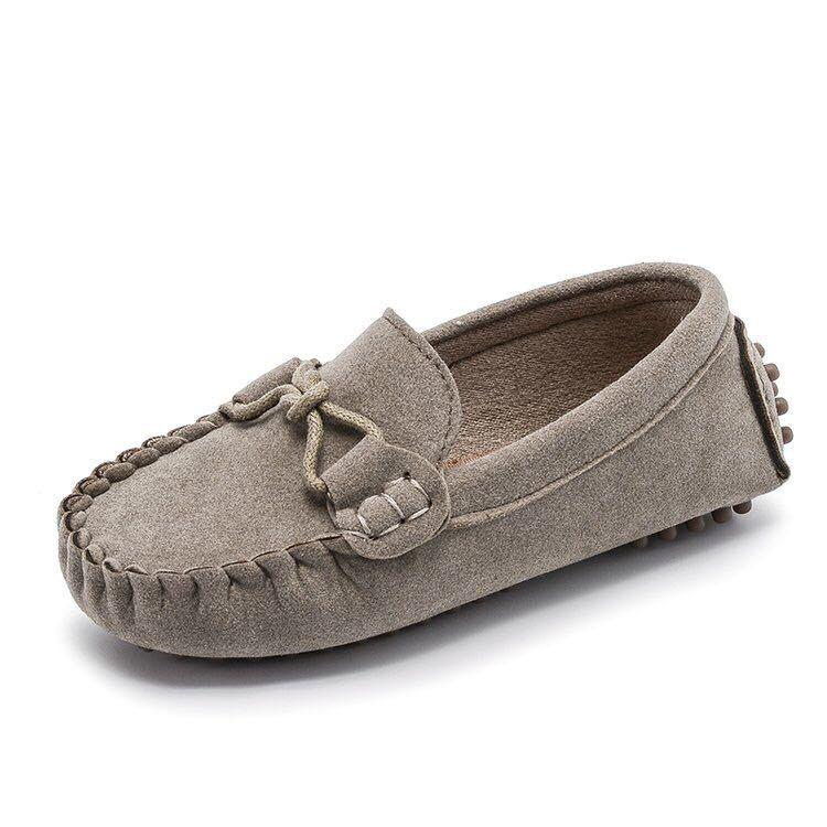 Beanie shoes with soft soles