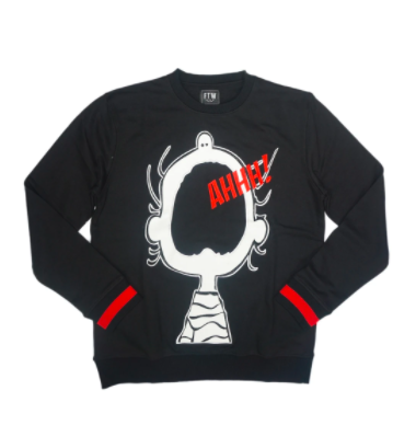 AHHH Crewneck (Black) suit