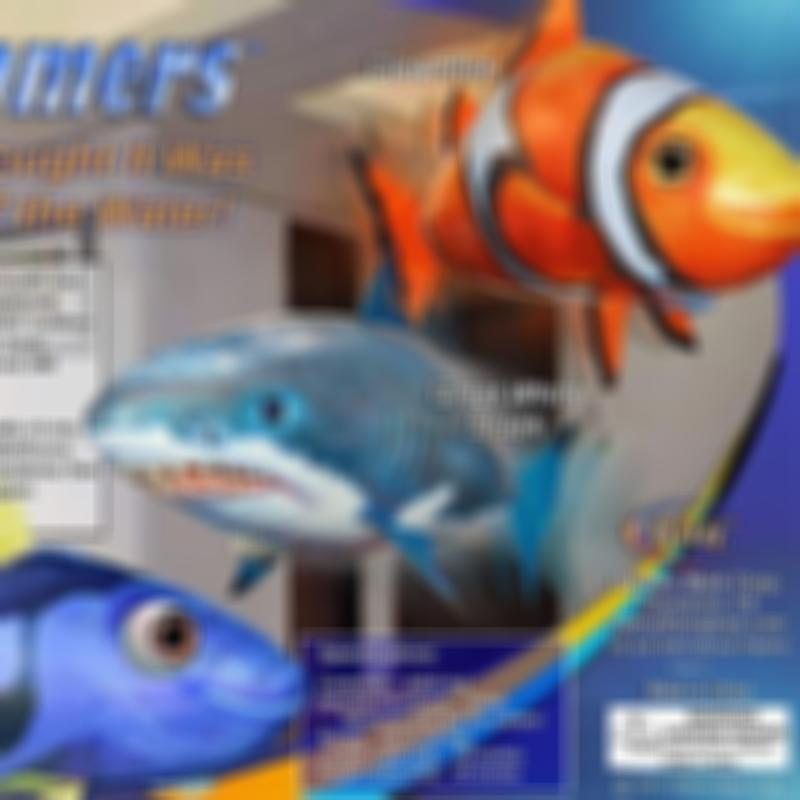 Inflatable RC Air Swimmer Remote Control Flying Shark Clownfish