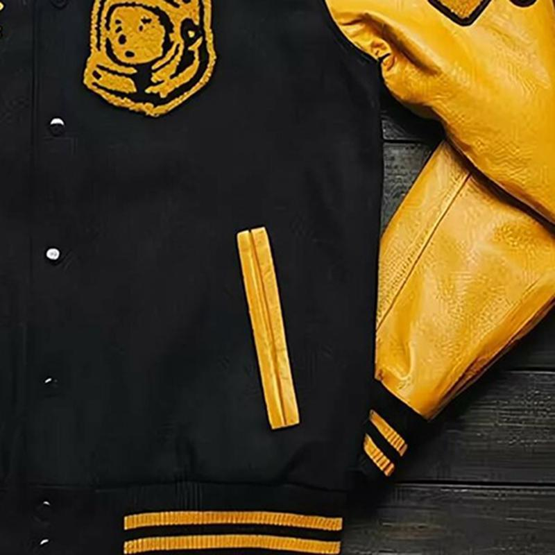 Sports style baseball jacket