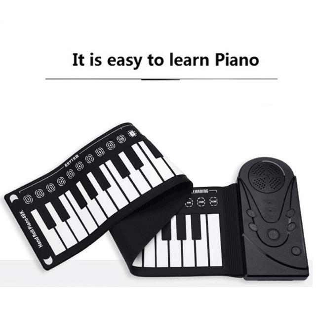 Best gift - hand roll portable piano 50% OFF TODAY
