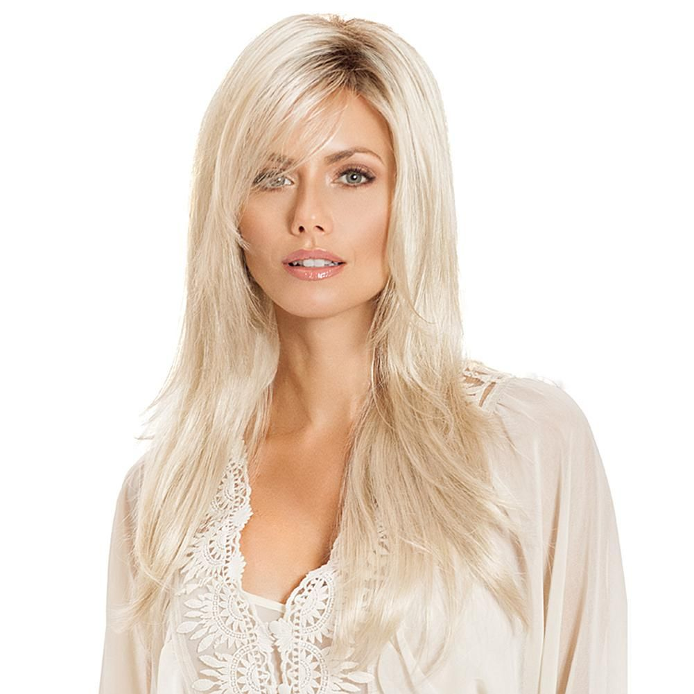 2021 New Lace Front Wigs Silver Pink Hair Long White Eyebrow Hair Best Highlights For Gray Hair